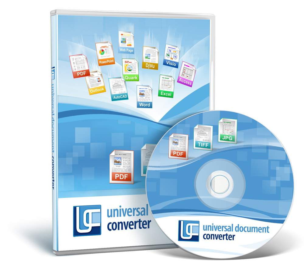 Universal Document Converter Screen shot
