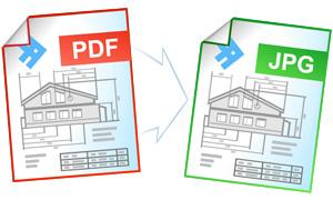 Конвертирование файлов PDF в формат JPG