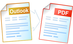 Save Outlook message as PDF