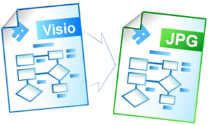 how to convert a visio file to pdf