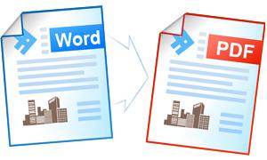 Сохранение документа Word в формате PDF