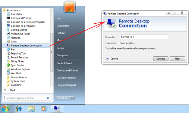 Remote Desktop - Universal Document Converter