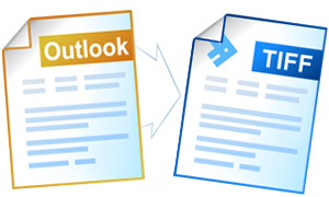 Convert Outlook to TIFF