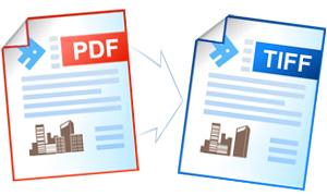 Конвертирование файлов PDF в формат TIFF