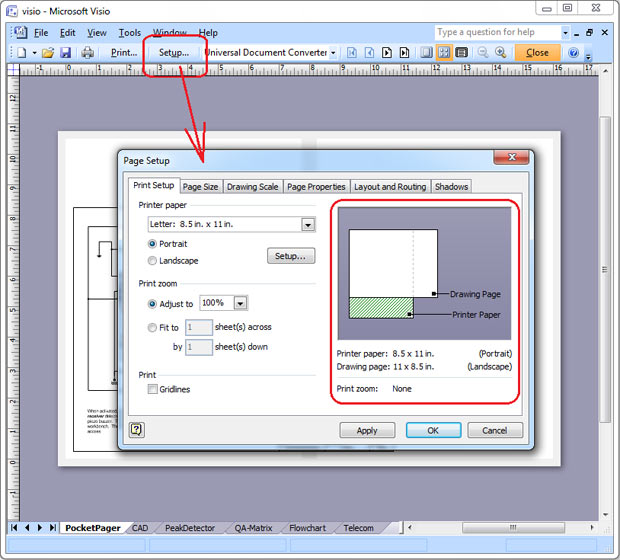 Convert Visio To Jpeg Universal Document Converter