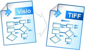 Конвертирование файлов Visio в формат TIFF