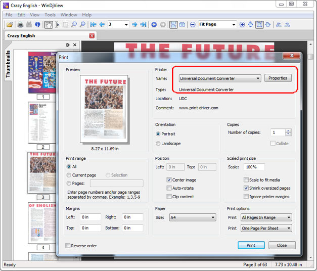 Convert DjVu to PDF online without installation - file ...