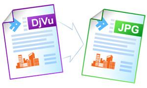 Конвертирование файлов DjVu в формат JPEG