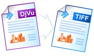 Конвертирование файлов DjVu в формат TIFF