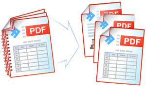 Разделение файла PDF